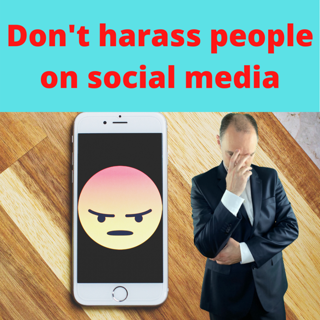 How to approach a customer in sales. Do not harass people on social media
