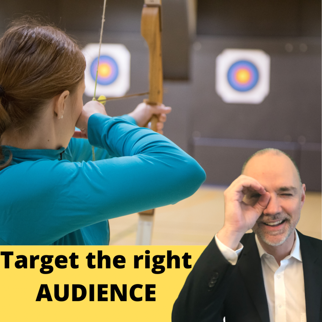 best paid advertising strategy part 3: target the right audience